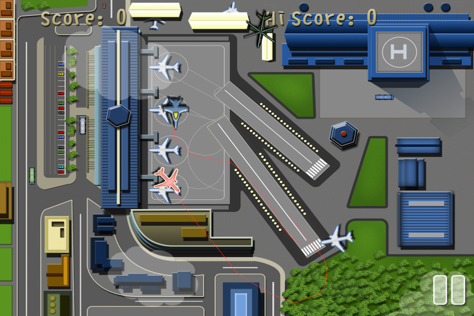Screenshot Airplane Traffic